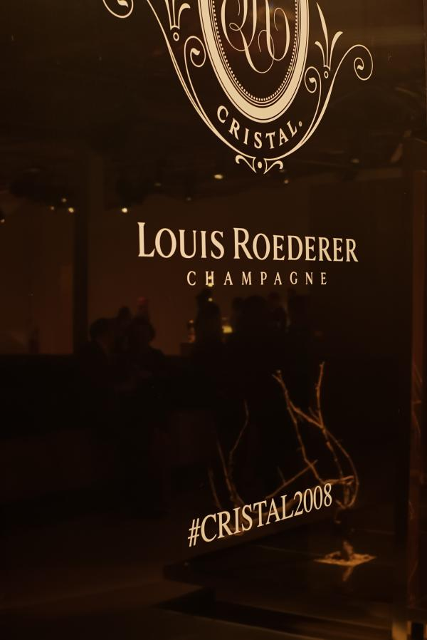 Cristal 2008 Louis Roederer launch