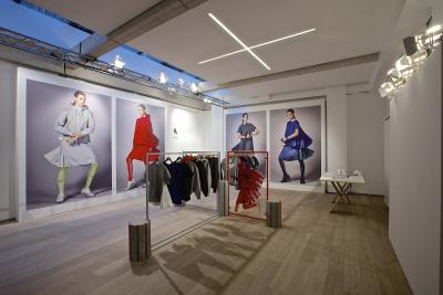 Nike X Sacai collection presentation